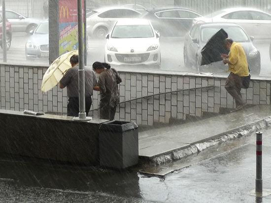 Такого дождливого мая в Москве не было со времен Александра Третьего