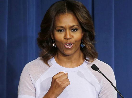 Мишель Обама: «Мои дочери будут работать, засучив рукава, как и весь наш народ»