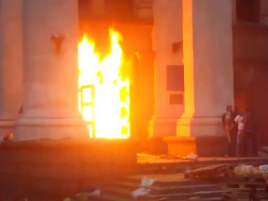 Кривда: никто из 48 жертв трагедии в Одессе не умер от телесных повреждений