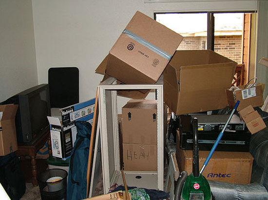 Как очистить квартиру от хлама