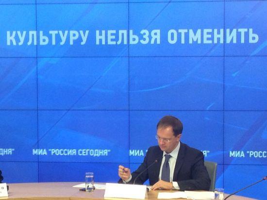 Владимир Мединский: «Латвия совсем уже культурным эксгибиоционизмом занимается. Поляки потрезвей»