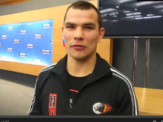 Российский боксер Дмитрий Чудинов одержал победу над датчанином Патриком Нильсеном