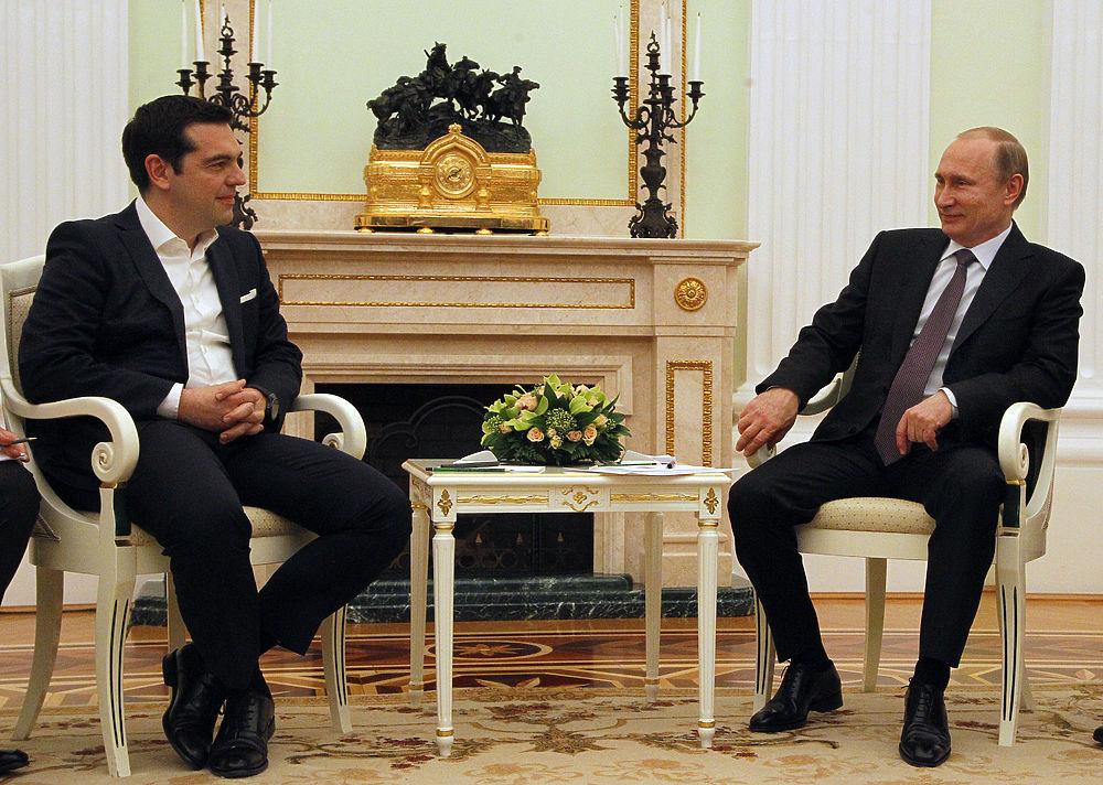 Ципрас в гостях у Путина