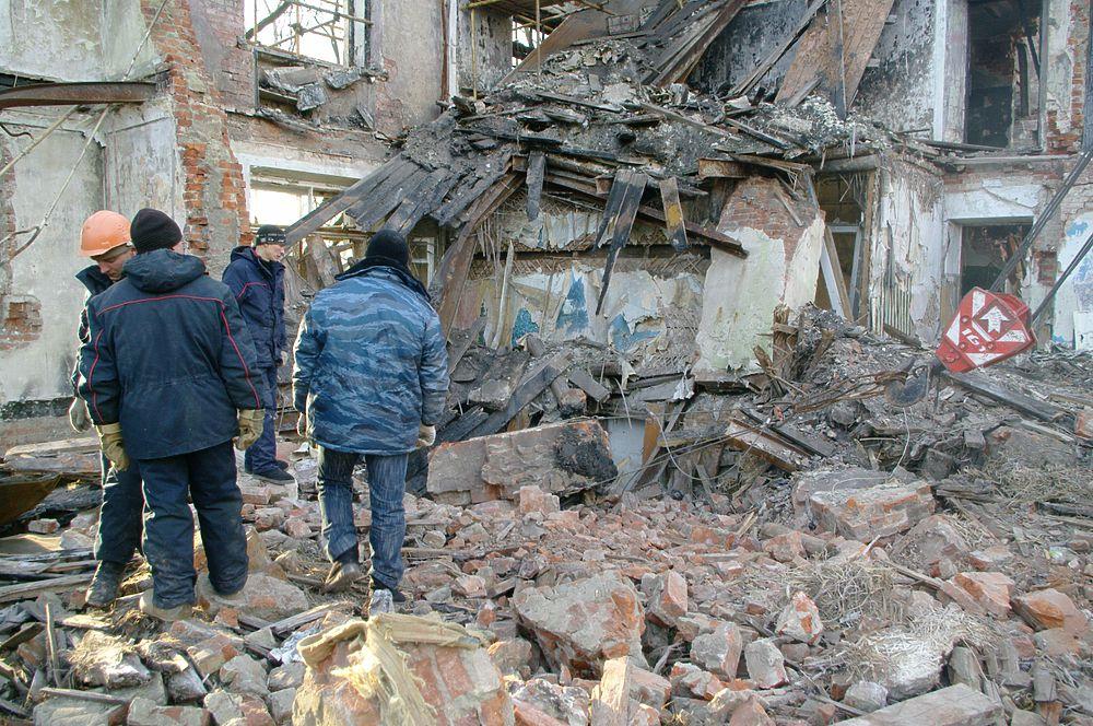 В разрушенном доме найденные шедевры, считавшиеся утраченными