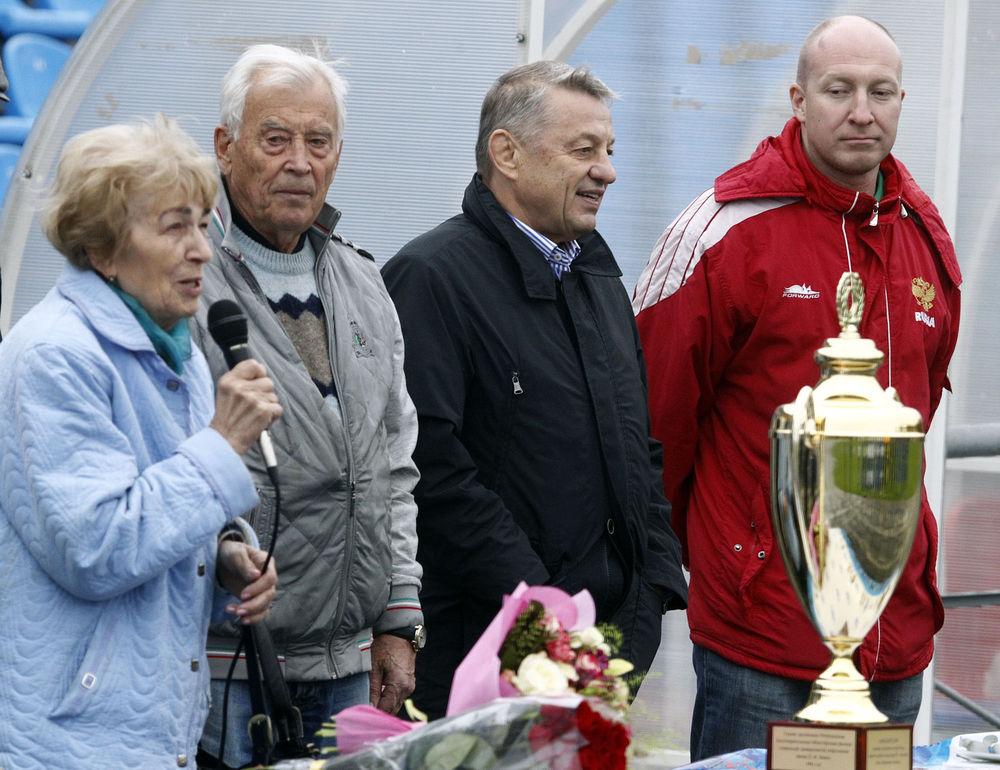 Завершился 24-й футбольный турнир среди ветеранов памяти лучшего вратаря ХХ века Льва Яшина