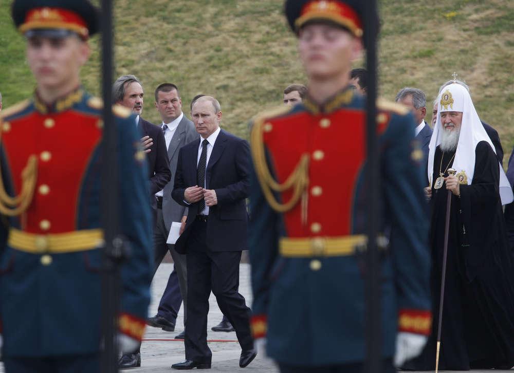 Владимир Путин выступил на открытии монумента героям Первой мировой войны