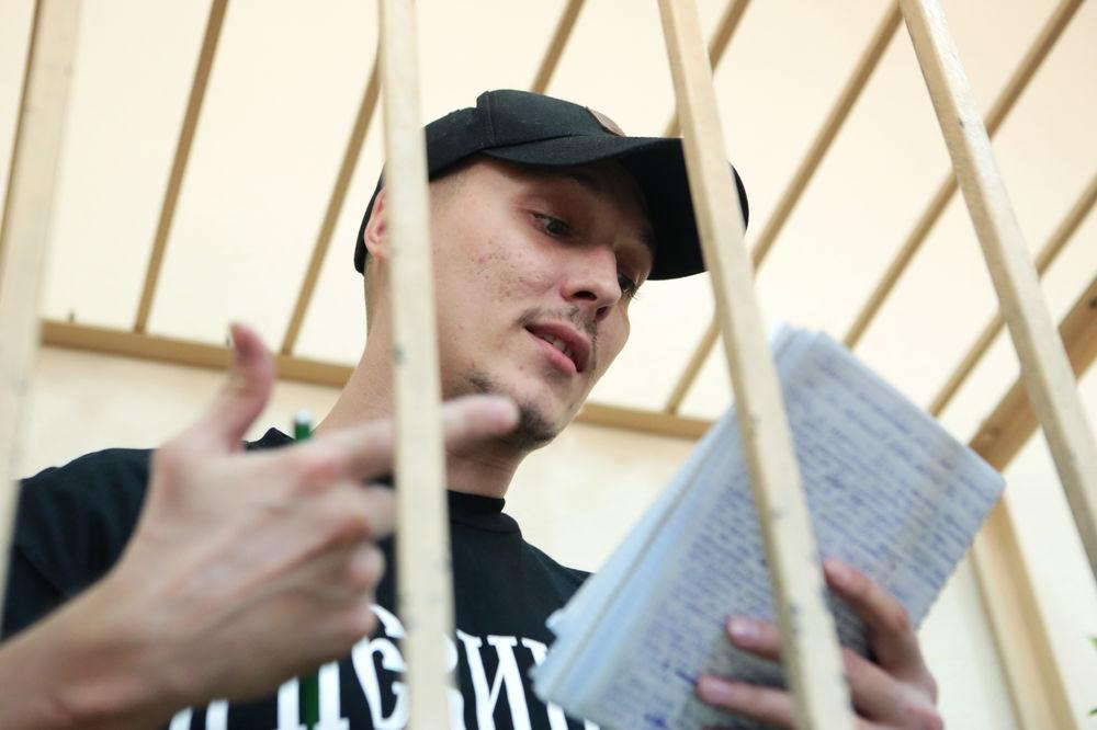 Рэперу Роме Жигану предоставили последнее слово: он прочитал рэп