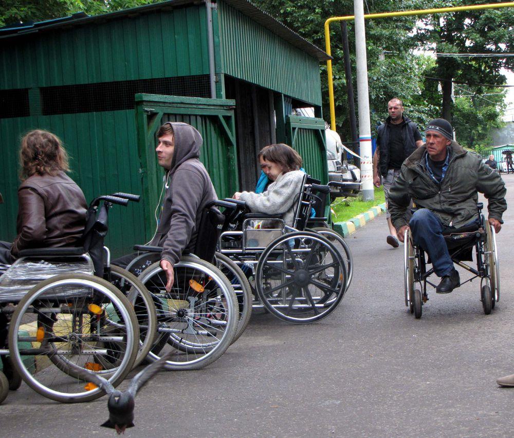 Тренинг для бездомных москвичей