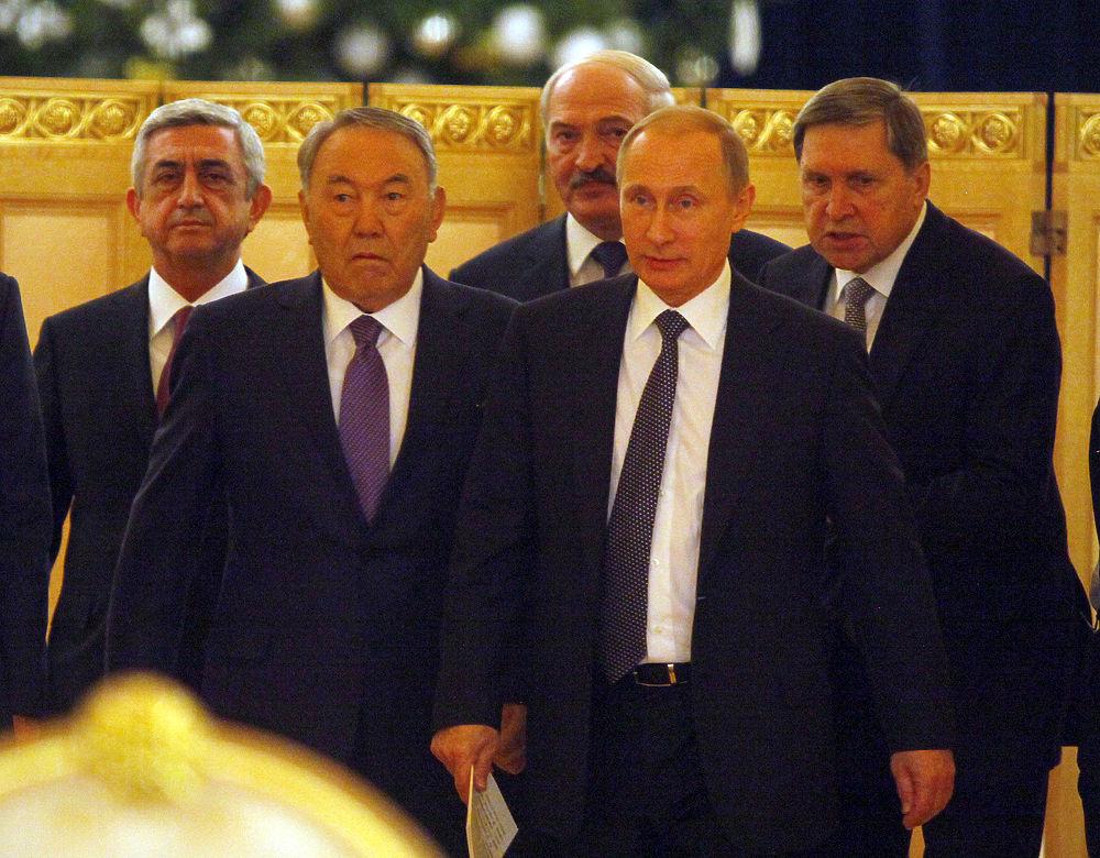 В Кремле прошло заседание Евразийского экономического совета