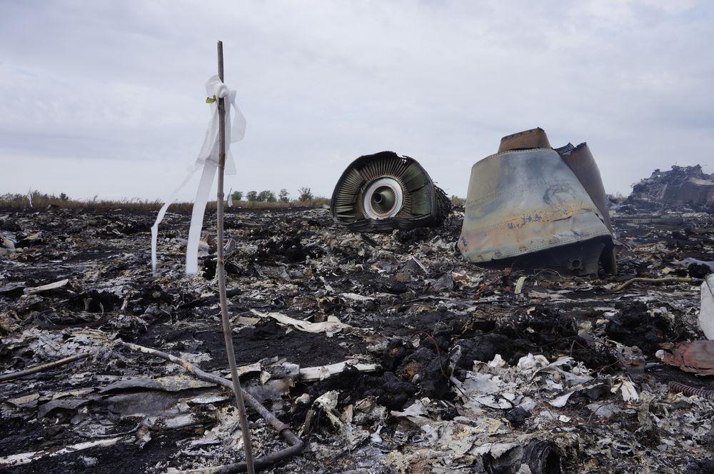 Катастрофа «Боинга»: фотографии с места трагедии