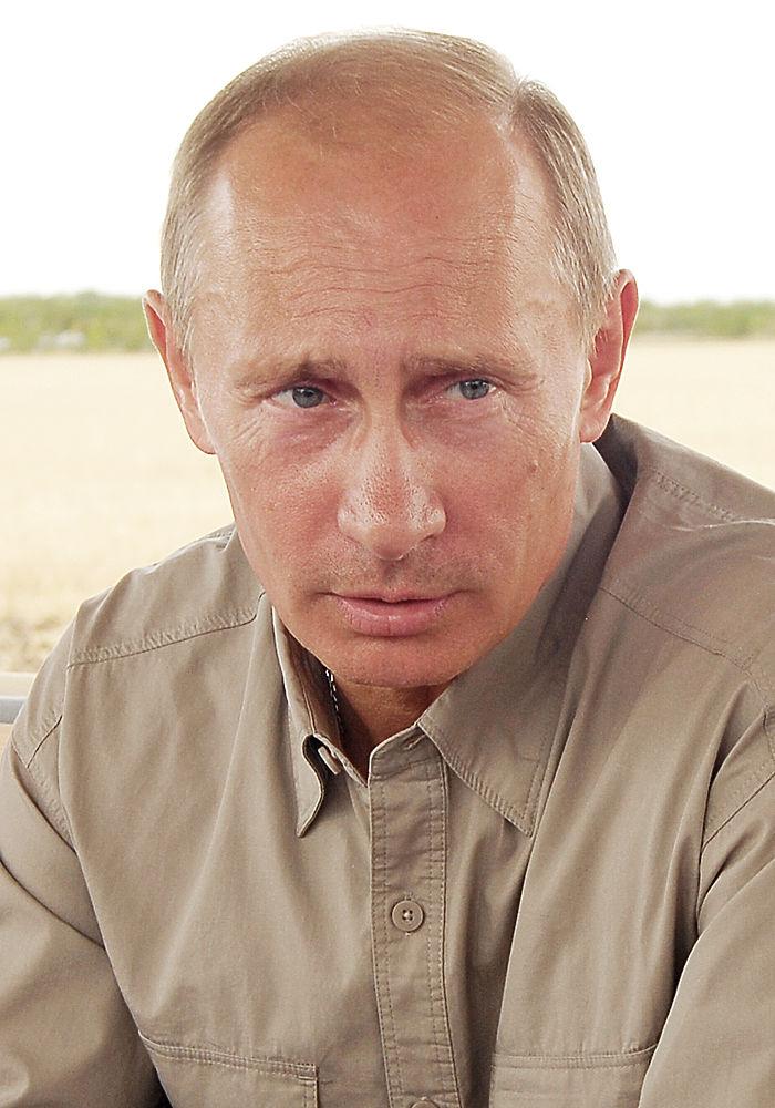 Как менялось лицо Путина за 15 лет