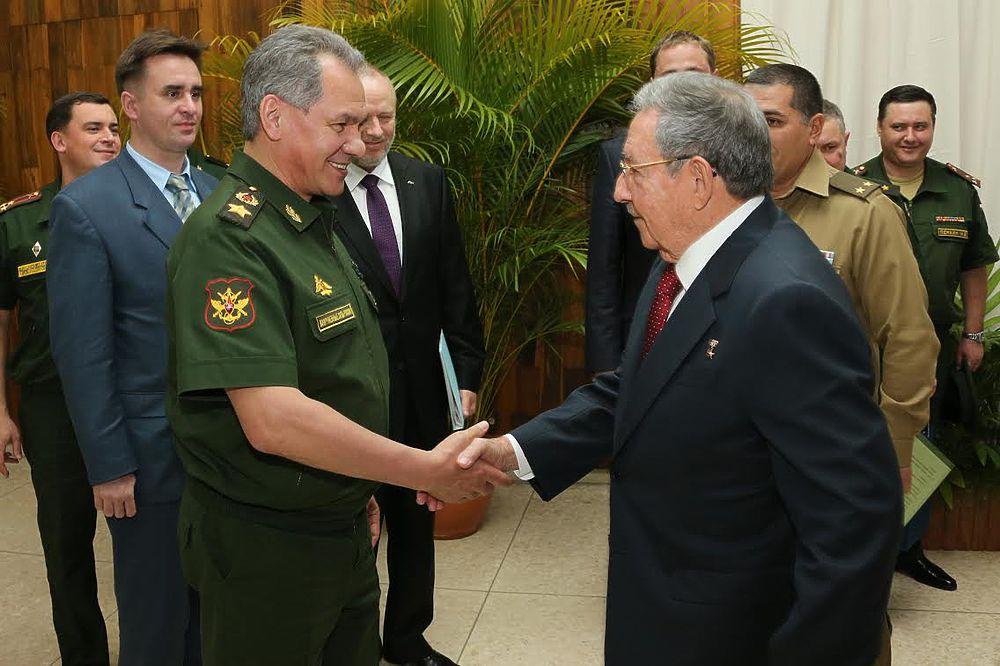 Визит министра обороны Сергея Шойгу на Кубу