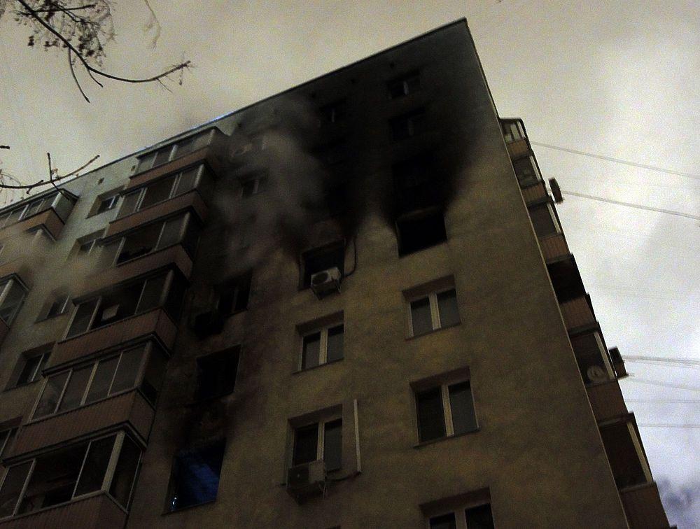 Взрывы газа и пожары в Москве