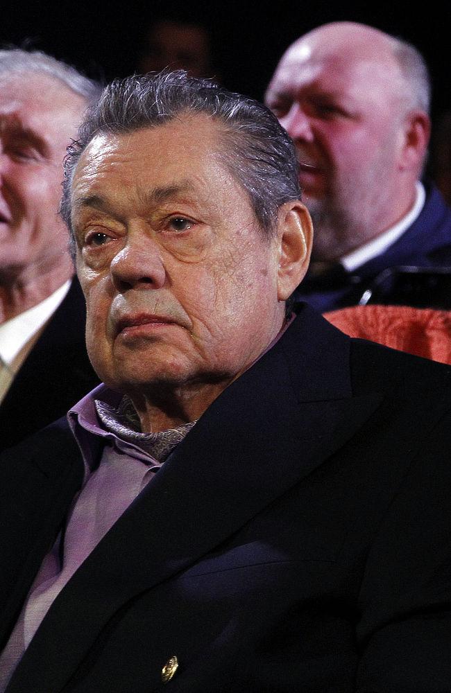 Николай Караченцов отметил свое 70-ти летие в Ленкоме