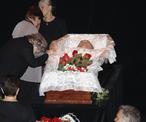 Место погребения: узнатьтроекуровское кладбище, москва.