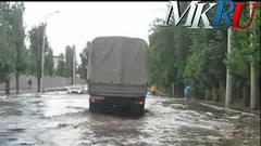 Воронежские дороги после дождя
